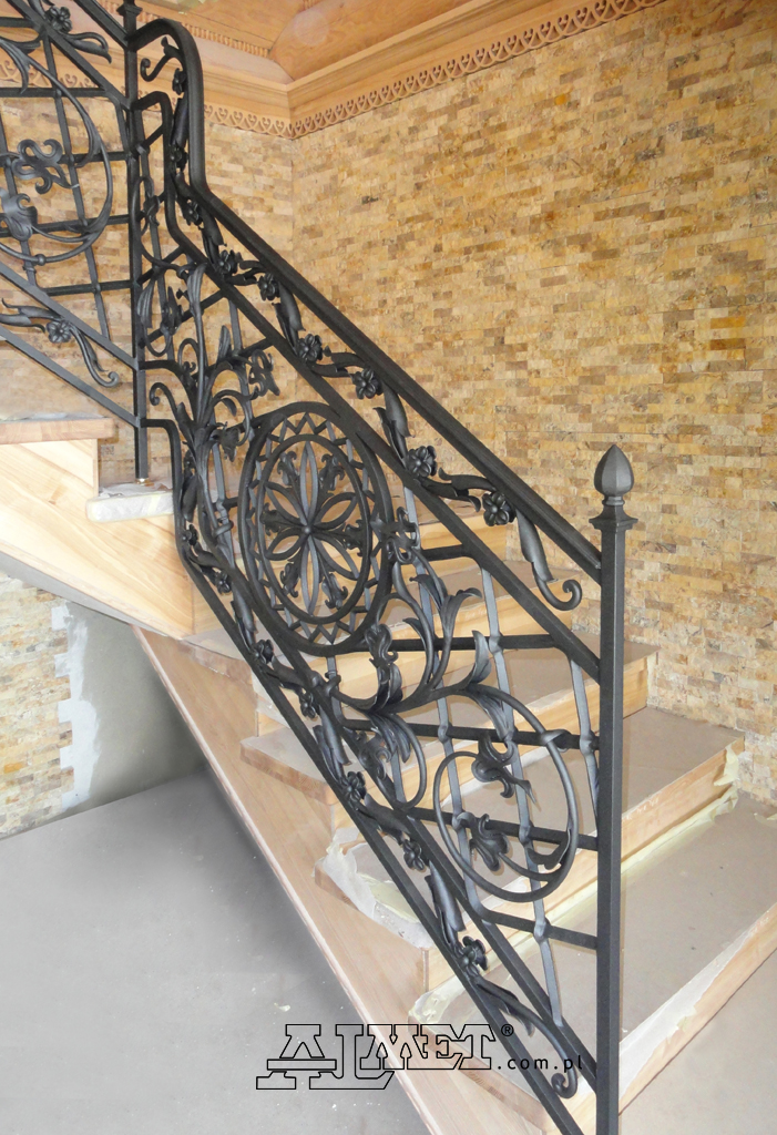 interior wrought iron staircase railings balustrades handrails. Black Bedroom Furniture Sets. Home Design Ideas