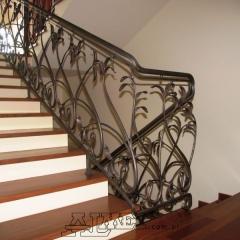 balustrady-schodowa-wewnetrzna-metalowa-kuta-b146